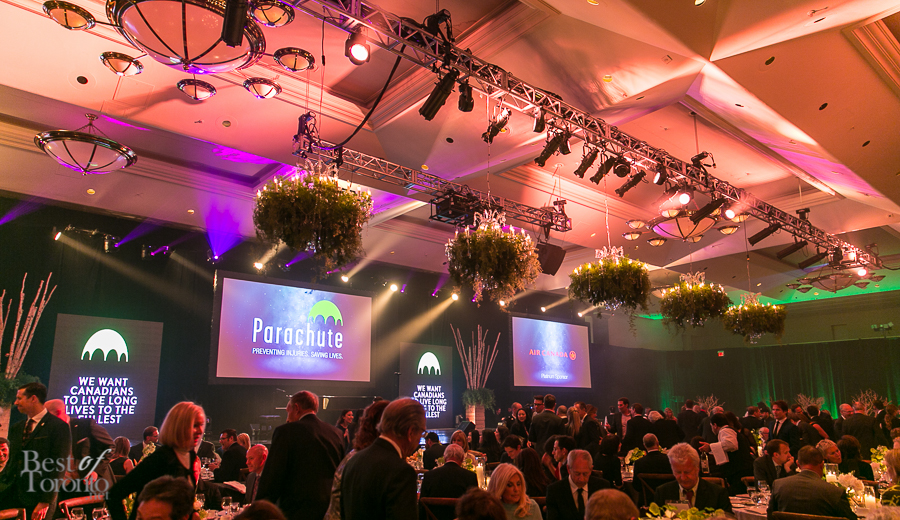 Live Auction Services - Parachute Gala, Best of Toroto 2015